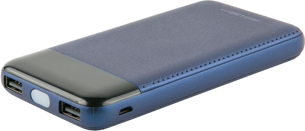 цена на Внешний аккумулятор RedLine T8 8000 mAh с цифровым дисплеем Blue