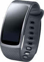 фото Фитнес браслет Samsung Gear Fit2 SM-R3600DAASER dark gray