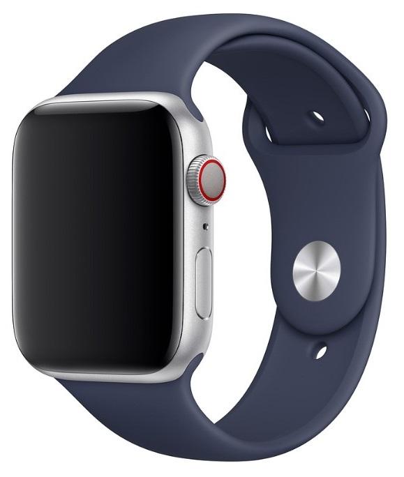Ремешок для умных часов Everstone ES-AWBS-104 Apple Watch 38/40мм силиконовый Blue фото