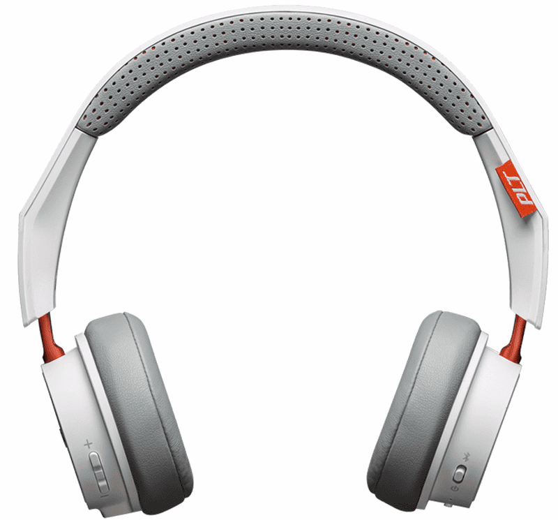 Гарнитура Plantronics BackBeat 500/505 Bluetooth накладная white цена