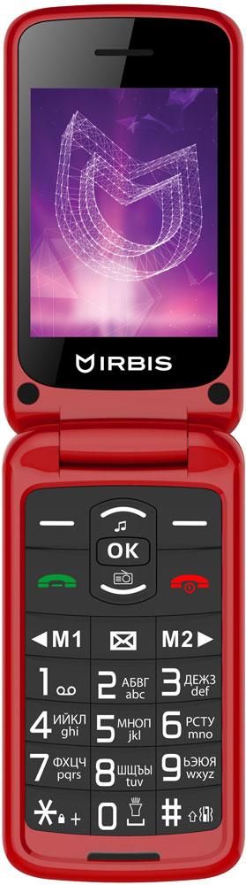 Мобильный телефон Irbis SF71 Dual sim Red фото