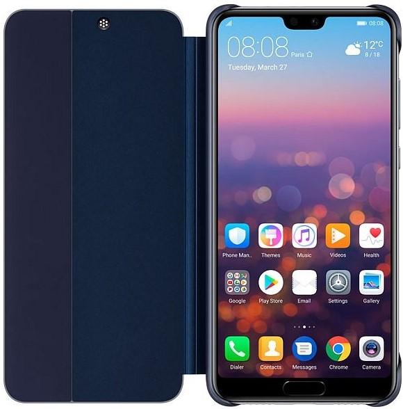 Чехол-книжка Huawei для P20 Pro blue ночная сорочка первоцвет