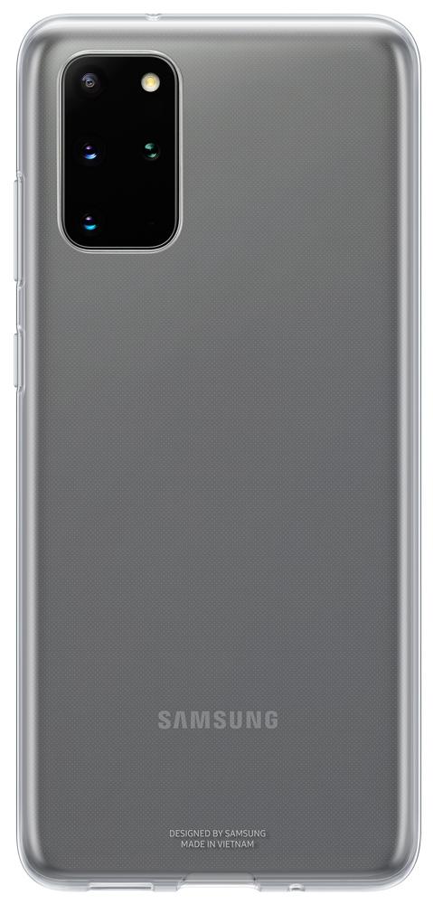 Клип-кейс Samsung Galaxy S20 Plus силиконовый прозрачный (EF-QG985TTEGRU) фото