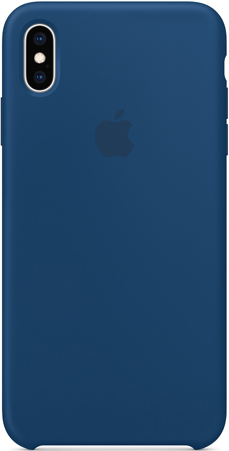 Клип-кейс Apple iPhone XS Max силиконовый MTFE2ZM/A Blue фото