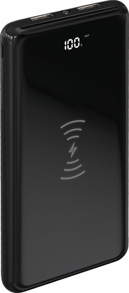 лучшая цена Внешний аккумулятор TFN Air Charge 10000mAh QC Black