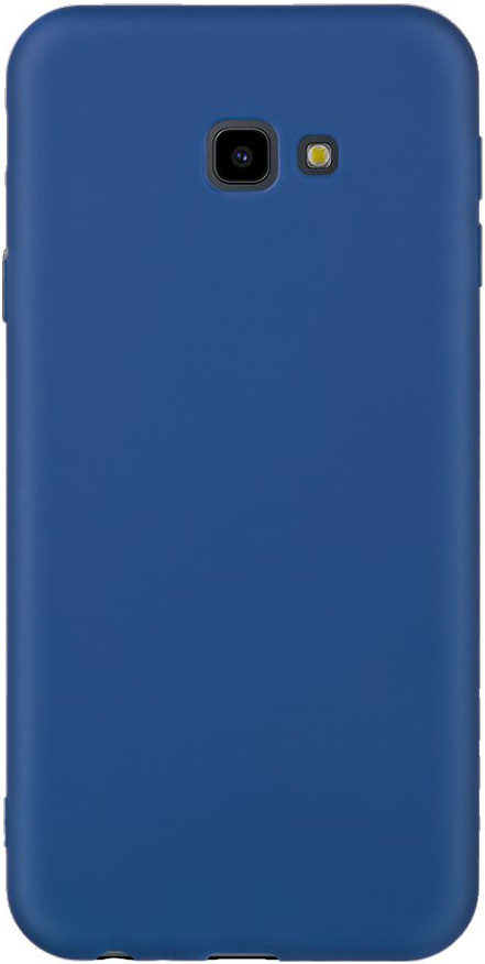 Клип-кейс Deppa Samsung Galaxy J4 Plus TPU Blue клип кейс deppa samsung galaxy a7 2018 tpu прозрачный