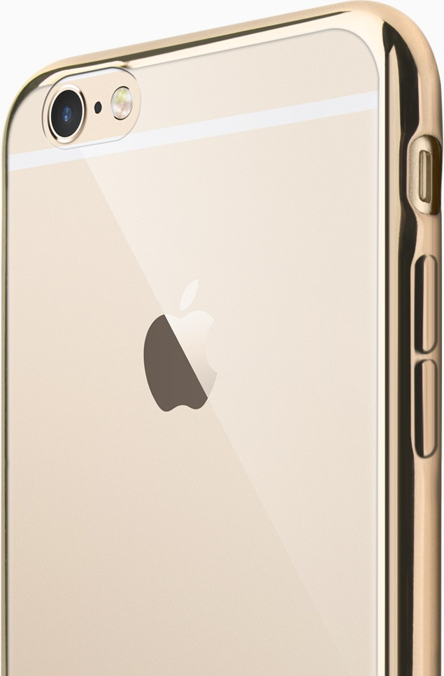 Фото - Клип-кейс Deppa Gel Plus iPhone 8 gold блок питания accord atx 1000w gold acc 1000w 80g 80 gold 24 8 4 4pin apfc 140mm fan 7xsata rtl