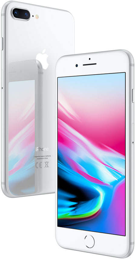 Смартфон Apple iPhone 8 Plus 256GB Silver (Серебристый) цена и фото