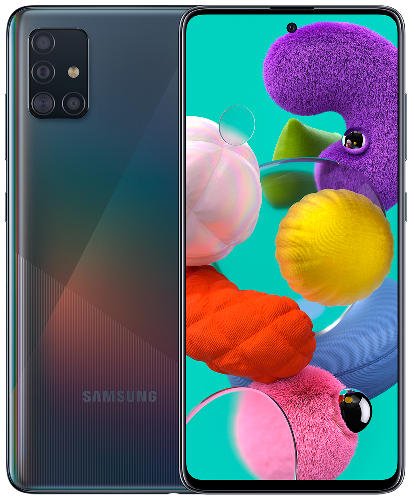 Смартфон Samsung A515 Galaxy A51 4/64Gb Black фото