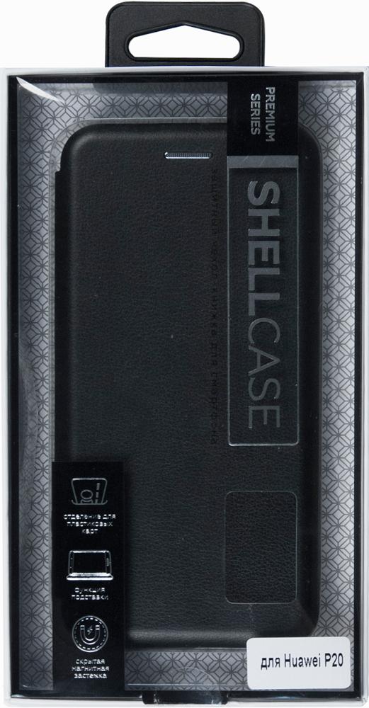 Чехол-книжка Smarterra ShellCase Huawei P20 Black чехол книжка vili shellcase для huawei p20 pro black