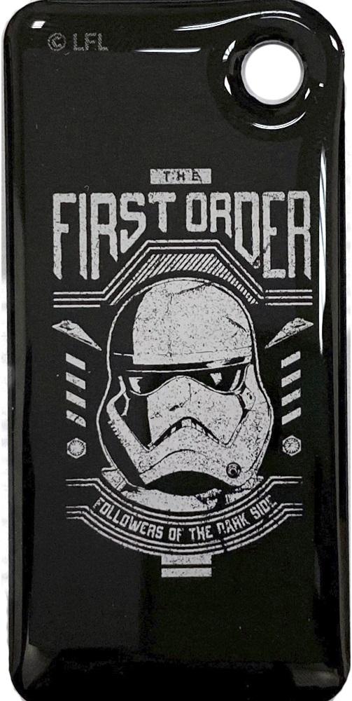 Брелок Тройка с чипом Звездные воины Штурмовик принт фото