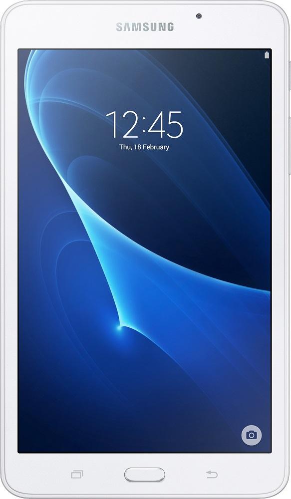 Планшет Samsung Galaxy Tab A 7.0 SM-T285NZWASER 8Gb LTE White планшетный компьютер samsung galaxy tab a 10 1 lte sm t585nzbaser