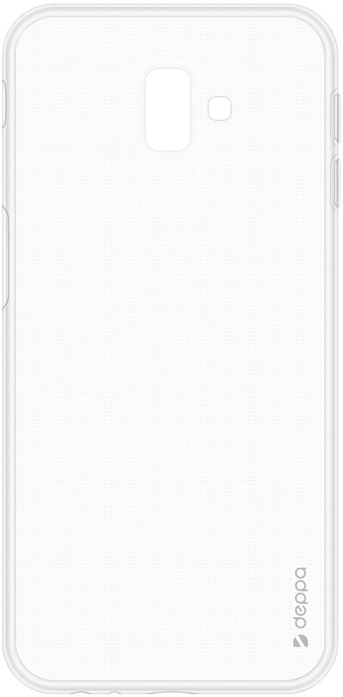 Клип-кейс Deppa Samsung Galaxy J6 Plus TPU прозрачный клип кейс deppa samsung galaxy a7 2018 tpu прозрачный