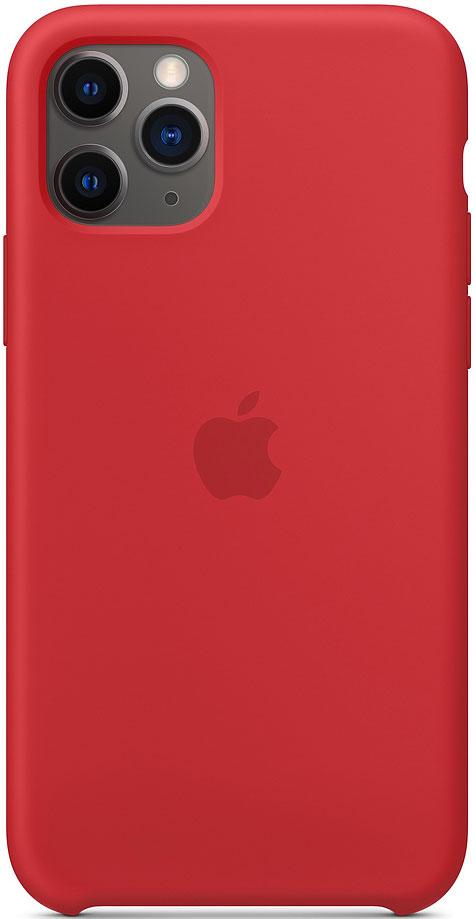 Клип-кейс Apple iPhone 11 Pro MWYH2ZM/A силиконовый Красный фото