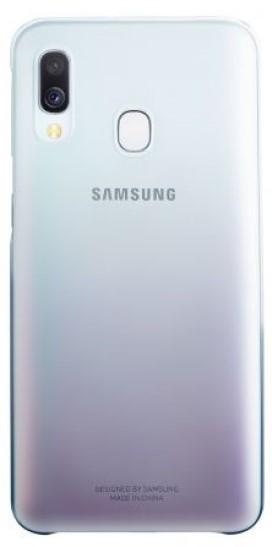 Клип-кейс Samsung Galaxy A40 EF-AA405C градиент Black клип кейс samsung dual layer ef pj330 для galaxy j3 2017 голубой