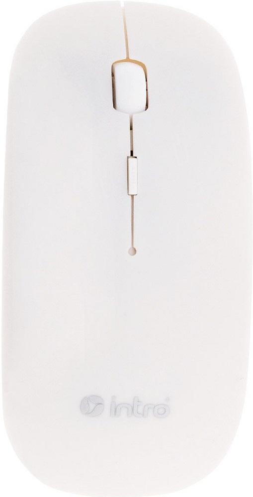 лучшая цена Мышь беспроводная Intro MW650 White