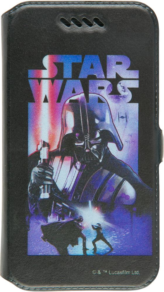 """Чехол-книжка Disney универсальный до 5"""" принт Star Wars №8"""