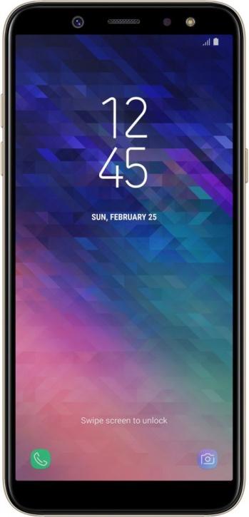 Смартфон Samsung A600 Galaxy A6 (2018) Gold