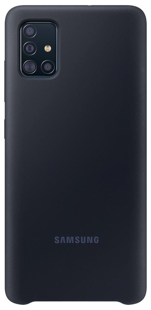 Клип-кейс Samsung Galaxy A51 силикон Black (EF-PA515TBEGRU) фото