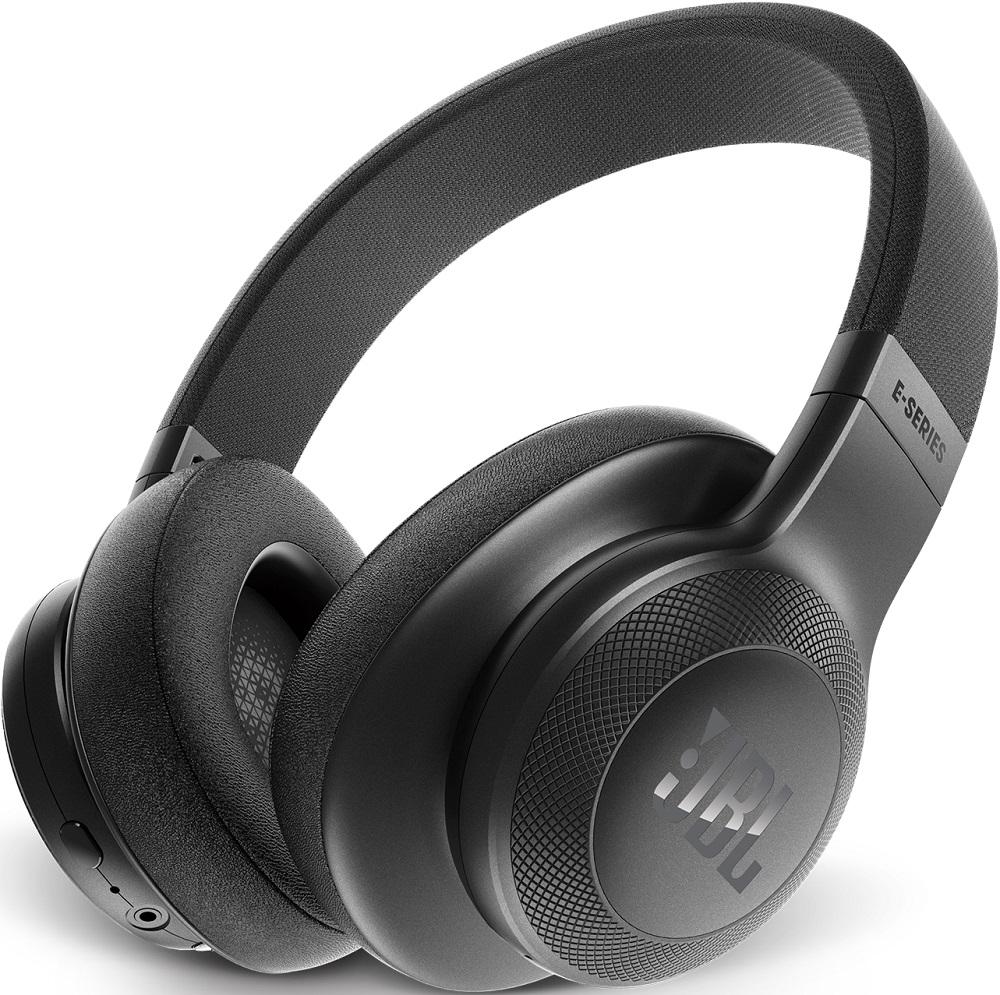 Беспроводные наушники JBL Bluetooth E55BT накладные black jbl t200a black