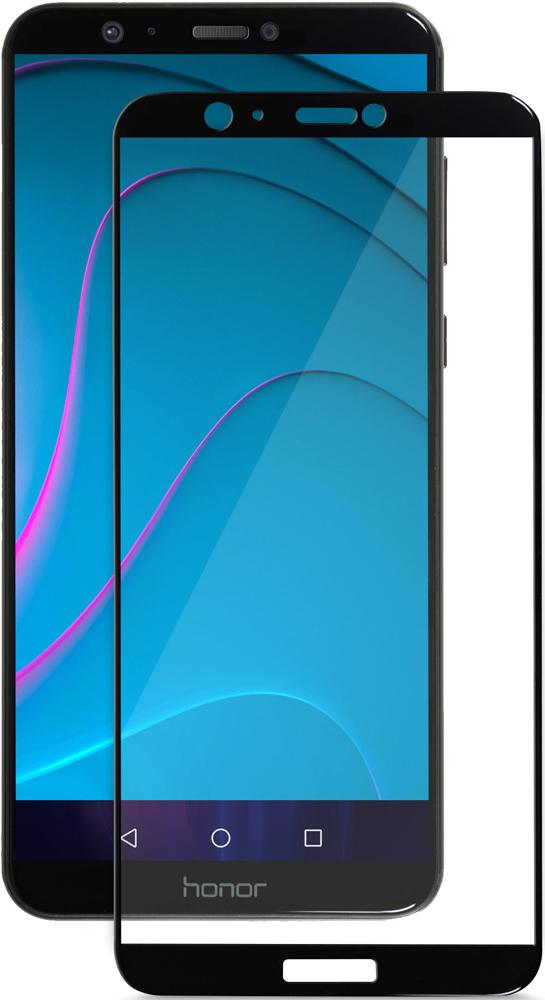Стекло защитное MediaGadget Honor 7A Pro 3D Full Screen черная рамка