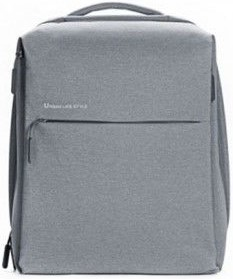 Рюкзак Xiaomi Mi City Backpack 15 light grey рюкзак xiaomi mi college casual shoulder bag light grey 74484