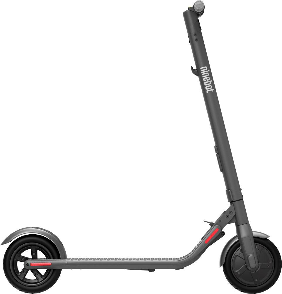 Электросамокат Ninebot KickScooter E22 Grey фото 2