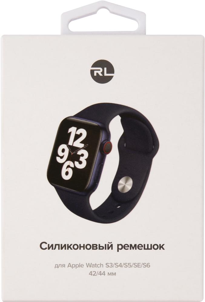 Ремешок для умных часов RedLine Apple Watch 38/40мм силиконовый Blue фото 4