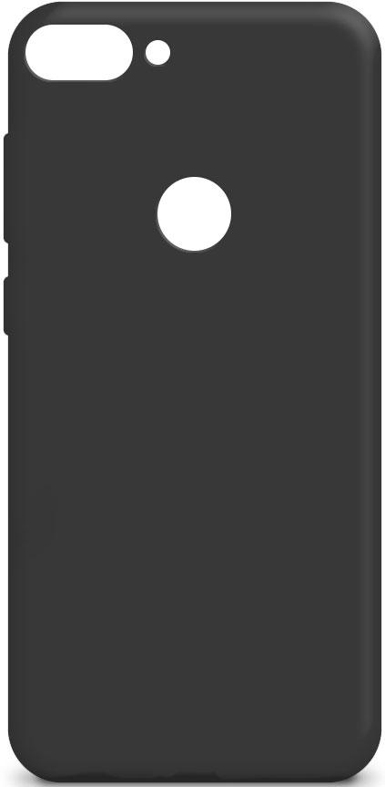 Клип-кейс Gresso Alcatel 1S 5024D силикон Black фото