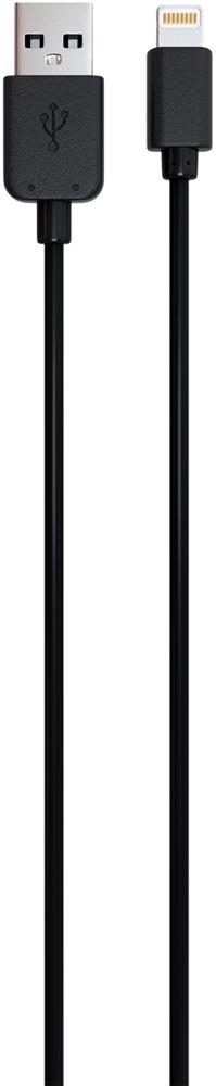 Дата-кабель RedLine USB-Lightning Black фото