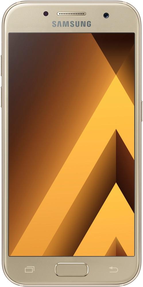 Смартфон Samsung Galaxy A3 (2017) SM-A320F/DS Gold