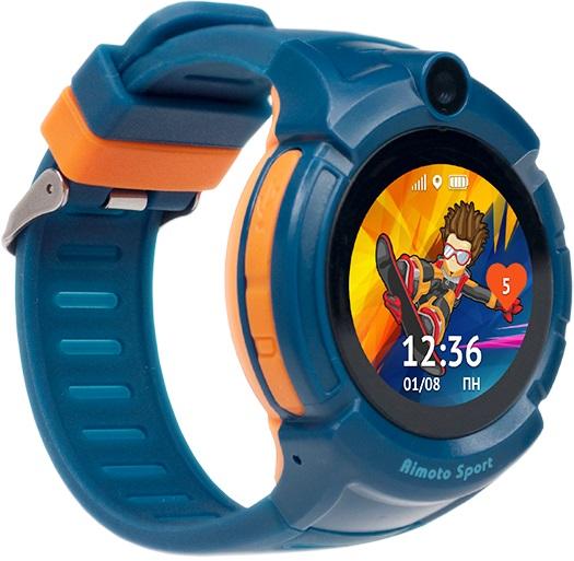Детские часы Кнопка Жизни Aimoto Sport Blue фото
