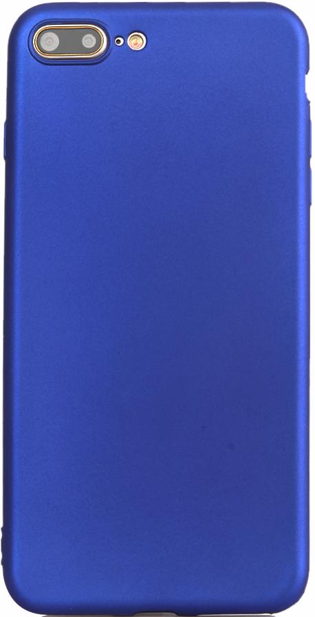 Клип-кейс Vili Oil Soft Touch iPhone 8 Plus Blue клип кейс vili silicone case iphone 8 plus blue