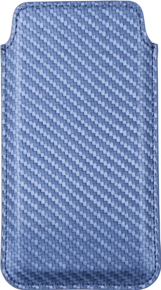 "Чехол-футляр OxyFashion универсальный размер M 4,3-5,5"" карбон gray"