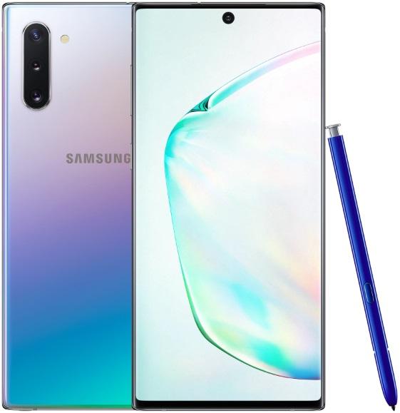 Смартфон Samsung N970 Galaxy Note 10 8/256Gb Аура фото
