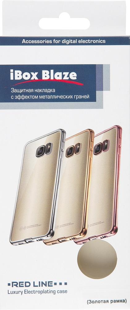 Клип-кейс RedLine Huawei Nova 2i кант Gold