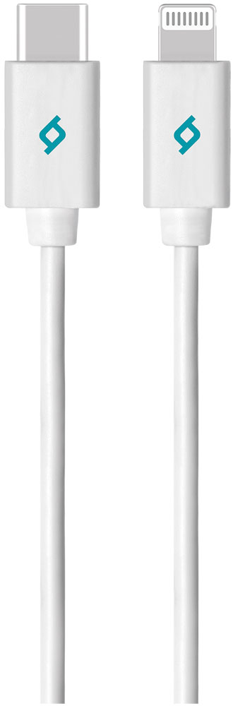 Дата-кабель Ttec Alumi Cable Type-C-8pin MFI White