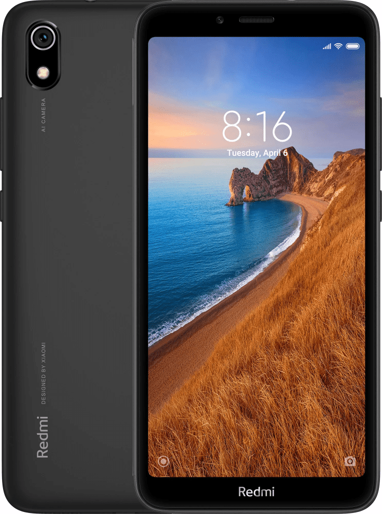 Смартфон Xiaomi Redmi 7A 2/32Gb Black фото