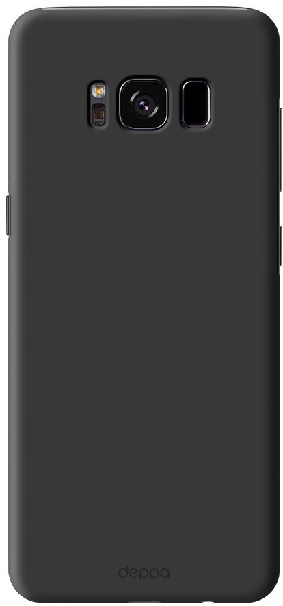цена Клип-кейс Deppa Air Case для Samsung Galaxy S8 black