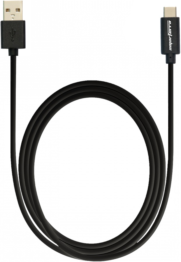 Дата-кабель Smarterra STR-TC001 USB type-C Black цена