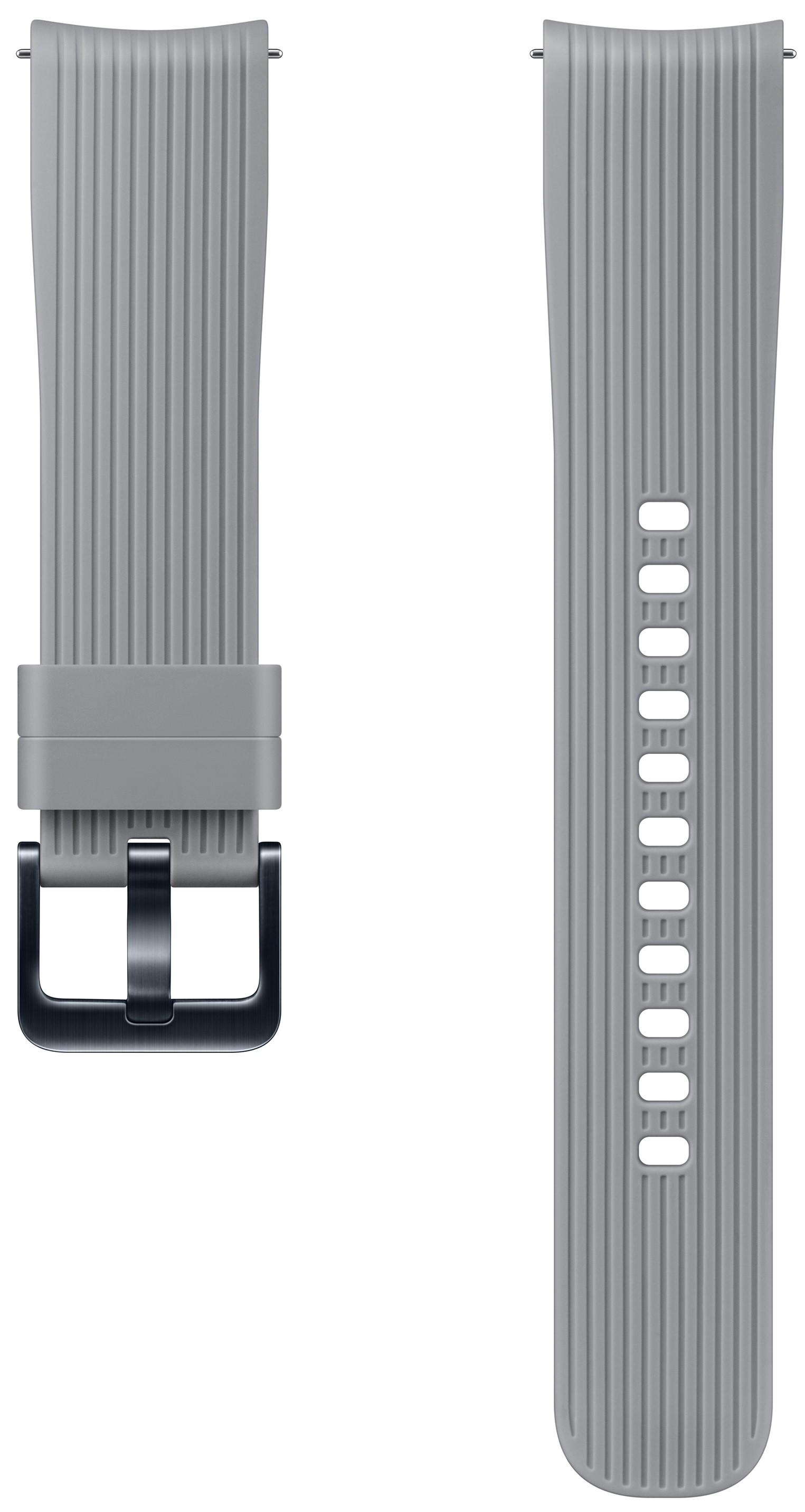 Ремешок для умных часов Samsung Galaxy Watch 42 мм Grey ремешок samsung для samsung galaxy watch 46мм samsung gear sport серый