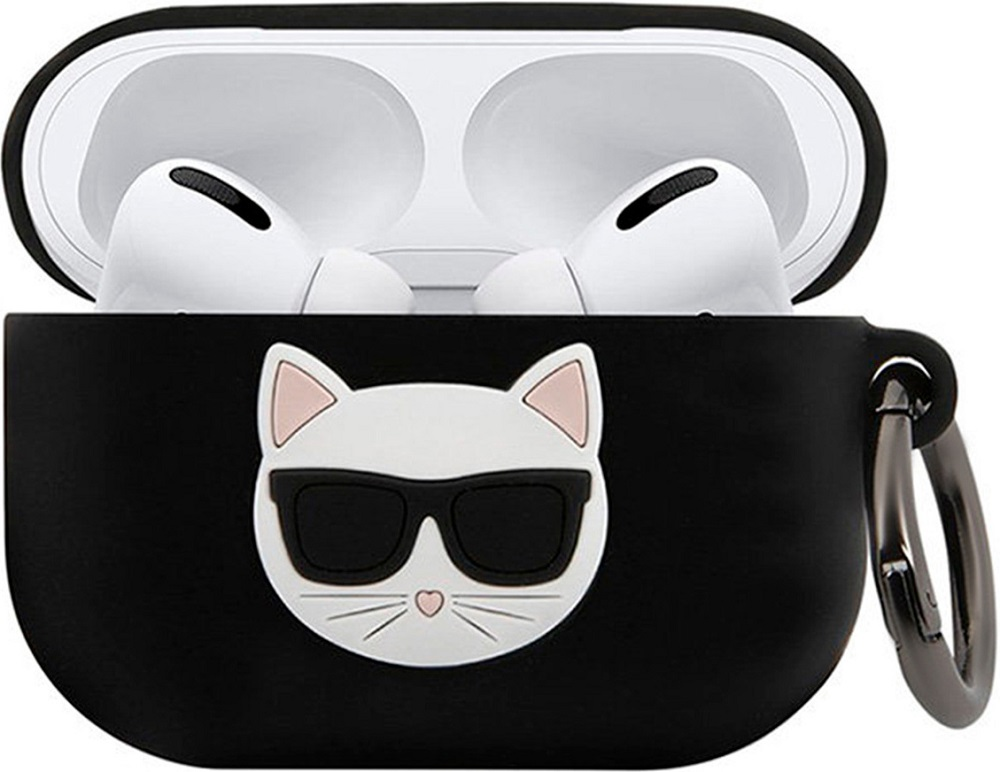 Чехол Karl Lagerfeld Airpods Pro Choupette Black