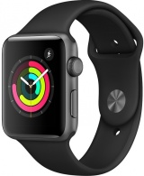 Часы Apple Watch Series 3 42 мм (MQL12RU/A)