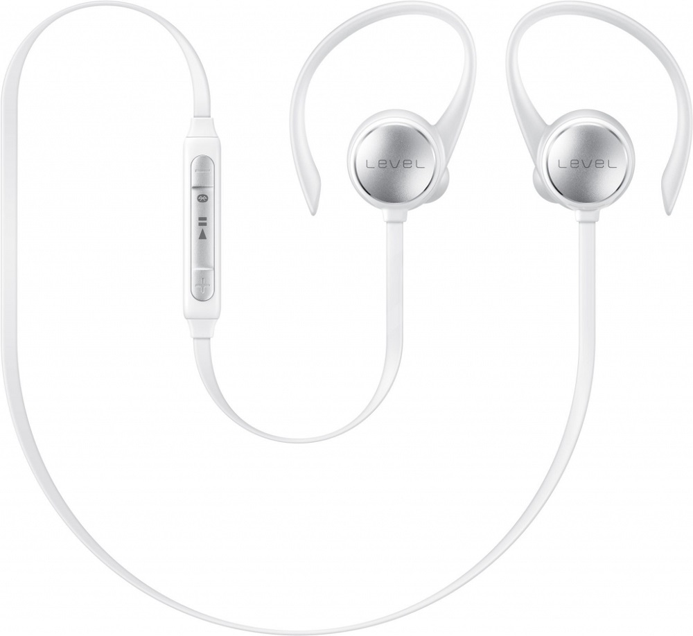 Беспроводные наушники с микрофоном Samsung Level Active White (EO-BG930CWEGR) samsung samsung eo pn920 level on wireless pro