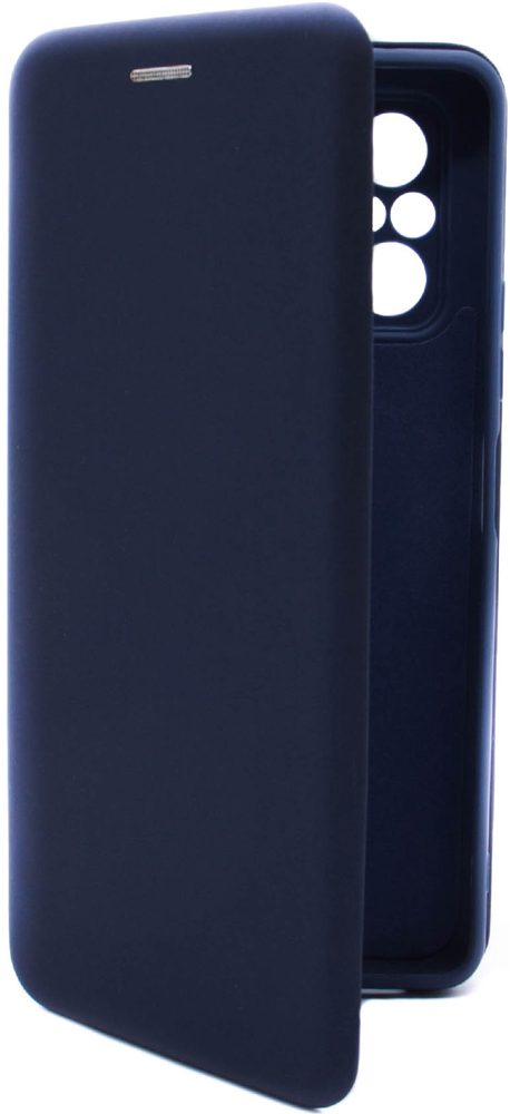 Чехол-книжка Borasco Xiaomi Redmi Note 10 pro ShellCase Blue