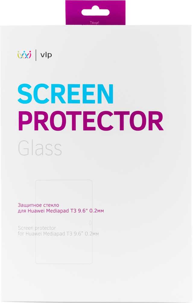 """Стекло защитное VLP, Huawei MediaPad T3 9.6"""" 0.2 мм прозрачное, стекло защитное, 7000-0303  - купить со скидкой"""