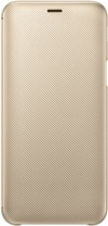 фото Чехол-книжка Samsung Galaxy J6 Wallet Cover Gold (EF-WJ600CFEGRU)