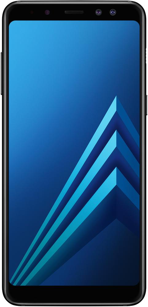 Смартфон Samsung Galaxy A8 (2018) 32GB Black