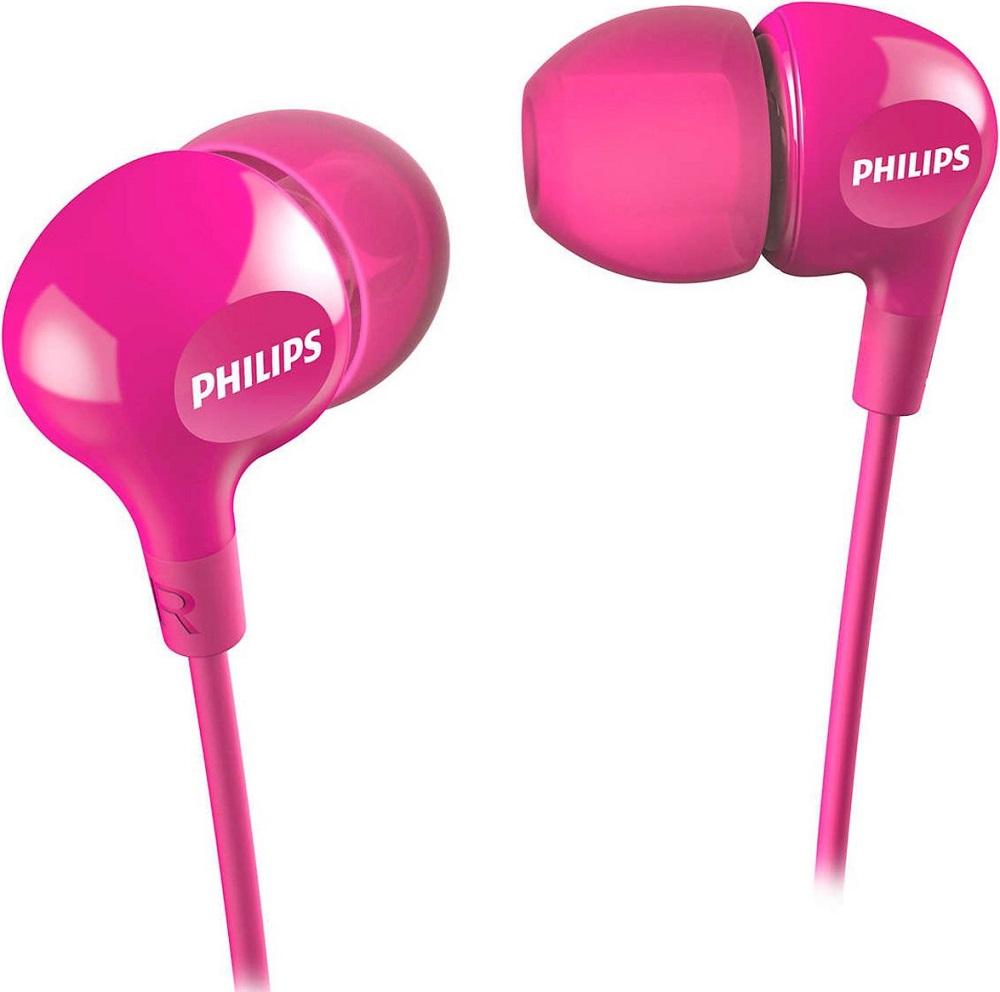 Наушники Philips SHE3550 Pink цена