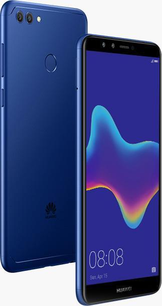 Фото - Смартфон Huawei Y9 2018 Blue объектив